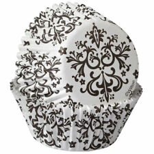 """Wilton STANDARD DAMASK Cupcakes Muffin Party Baking Decorating Cases 2 """""""
