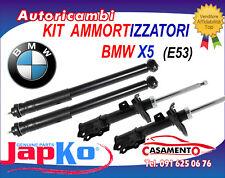 KIT 4 AMMORTIZZATORI JAPKO BMW X5 (E53) DAL 5/2000 IN POI
