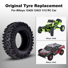 Original Rubber Wheels Tires for Wltoys 12423 12428 1/12 RC Car Right Wheel Tyre