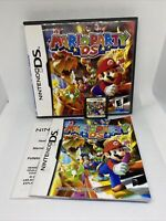 Mario Party DS (Nintendo DS, 2004)  Complete With Manual TESTED WORKING