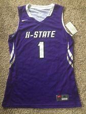 Nike Kansas State St Wildcats Basketball Jersey #1 Sz Adult M Purple NWT New
