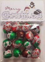 Chocolate Christmas Foils Christmas Eve Box Stocking Filler Novelty gift tabbed