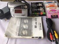 Hitachi DZ-GX5080A DVD Camcorder ~ Includes Lowepro* Brand Camera Bag