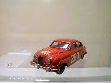 GRAND PRIX MODELS SAAB 96 RALLYE RMC 1963 CARLSSON RED WHITEMETAL HANDB. 1:43
