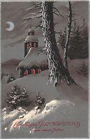 BG4481 winter landscape   new year neujahr  germany  greetings