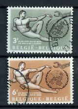 Belgium 1962 SG#1831-2 The Rights Of Man Used Set #A53473