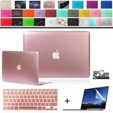 """For 12 13"""" 15"""" MacBook Air/Pro/Retina Matte case+keyboard cover+Screen protector"""