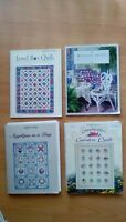 Lot of 4 Quilt in a Day books. Applique, Winning Hand, Jewel Box, Grandmothers G