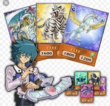 Yugioh GX Jesse Anderson OriCa Crystal Beast Anime Style Deck