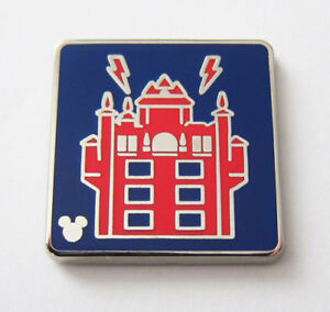 Disney Pin Tower of Terror COMPLETER Hidden Mickey WDW Attraction Icons