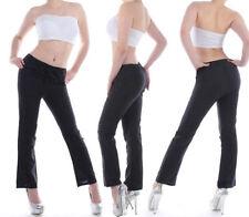Leinene bequem sitzende Damenhosen Hosengröße 40