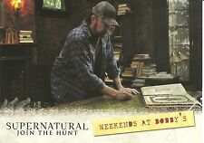 Supernatural Season 1-3 Join the Hunt Locations Weekend Bobbys Insert Card #L02