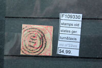 STAMPS OLD STATES GERMANY TURN & TAXIS MICHEL N°32 USED (F109330)