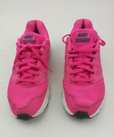 Nike Downshifter 6 Running Shoes Womens Size 8 Black Pink Sneakers 684765-601