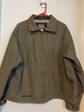 Columbia Mens Stonewashed Granite Cloth Jacket Large Authentic Active Outdoor Am
