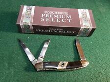 Rough Rider RR1691 Stockman Mirror Finish Folding Knife 3 Blades Folder