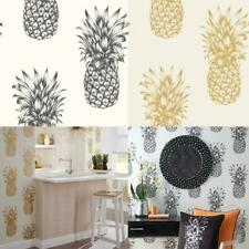 Arthouse Copacabana Pineapple Tropical Fruit Wallpaper 2 Colours