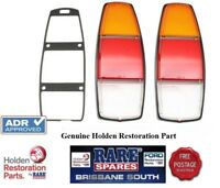 HOLDEN WB COMERCIAL UTE AND PANEL VAN REAR TAIL LIGHT LENSES PAIR 2 RARE SPARES