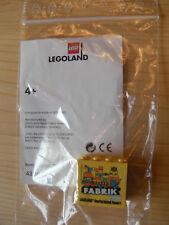"Lego "" Fabrik 2017 "" Legoland Germania Resort Mattoncini Speciali Sammelstein"