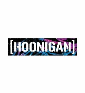 Official Hoonigan Ken Block Galaxy Censor Bar Sticker - Free UK Shipping