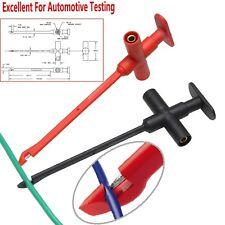 car Test Hook No damage Piercing Cables Probes to 4mm banana jack Multimeter pen