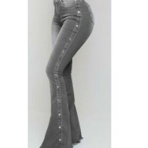 Pantalon Colombianos Jean de Moda Ropa Para Mujer Levanta Cola Vaqueros NEW