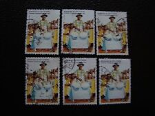 COTE D IVOIRE - timbre yvert/tellier n° 768 x6 obl (A28) stamp (Z)