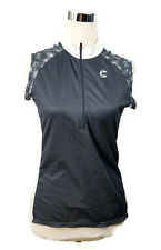 Cannondale Womens Road bike Mountain Bike Biking Jersey Short Sleeve 1/4 Zip M