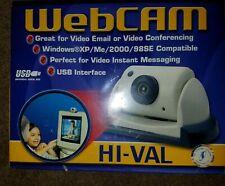 I/O Magic HNWC200 Hi Val Internet Ready USB Web Camera Brand New