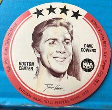 DAVE COWENS - 1976 BUCKMAN's DISC - BOSTON CELTICS