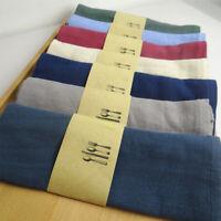 Einfarbig Stoffservietten Leinen Baumwoll-Serviette Essen Foto Hintergrund Tuch