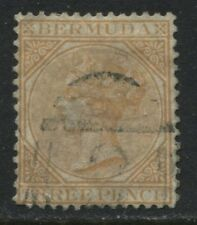 Bermuda QV 1873 3d buff perf 14 used (JD)