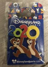 PIN'S Disneyland Paris DATE 2020 TIC & TAC / Chip & Dale OE