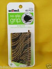 A5:New 48x SCuNCi No-Slip Grip Bobby Pins-67403-A