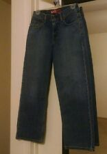 """Women's Levi's 550 Relaxed fit Blue Jean Sz 12 vintage pre-owned 26""""x26.5"""" #0631"""