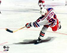 Wayne Gretzky NEW YORK RANGERS SLAPSHOT (1997) Premium POSTER Print