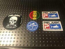 Pelagic Fishing High Performance Offshore Sticker/Decal Set 5 Stück