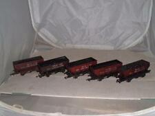DAPOL ? 'OO' GAUGE WAGONS 5 'HOUSE COAL CONCENTRATION OO GAUGE VINTAGE SEE PICS