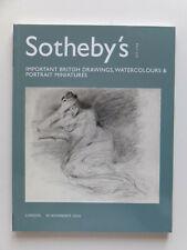 Beau catalogue Sotheby's, dessins anciens...