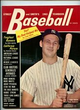 1963 Street and Smith Baseball Yearbook - Tom Tresh (NY Yankees) Cover - Rare