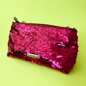 Victoria's Secret Beauty SEQUINS Cosmetic HOLIDAY Bags CLUTCH U PICK ONE NEW