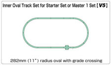 More details for kato unitrack (v5) inner oval track set n gauge 20-864