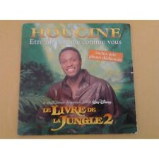 cd single houcine - chanson disney - le livre de la jungle