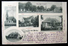 Prussia~Germany~POLAND~1903 Gruss aus PRITTER ~