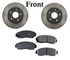 For Honda Odyssey V6 3.5L Front Disc Brake Pads Rotors Kit Opparts