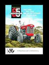 MASSEY FERGUSON MF 65 GAS & DIESEL TRACTOR MANUALS 160pg Operation & Maintenance