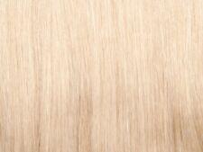 25 Strähnen 1g indis. Echthaar 50 cm Haarverlängerung Farbe 613