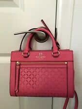 NWT KATE SPADE NEW YORK PERRI LANE CABERETPINK   MINI ROMY SATCHEL/BAG WKRU3546