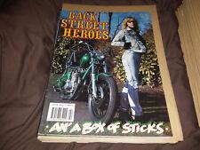 Back Street Heroes - Issue 70 - February 1990  - Motorcycle Magazine