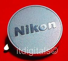 For Nikon Custom Made Metal Rear Lens Cap Cover AF DX Back Safety Dust Cap New